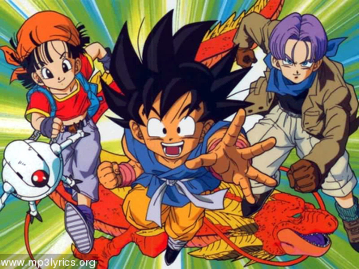 Top Five Dragon Ball GT characters