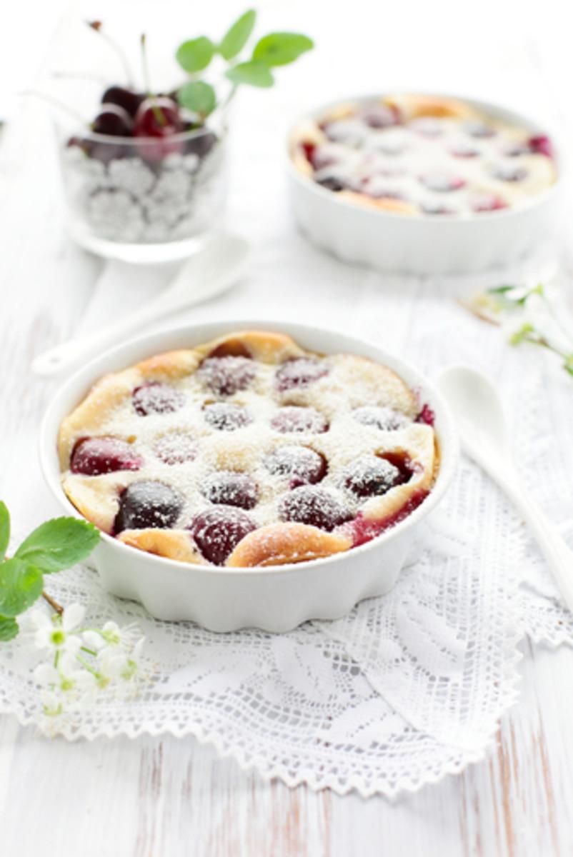 Cherry clafoutis. Image:  sarsmis|Shutterstock.com