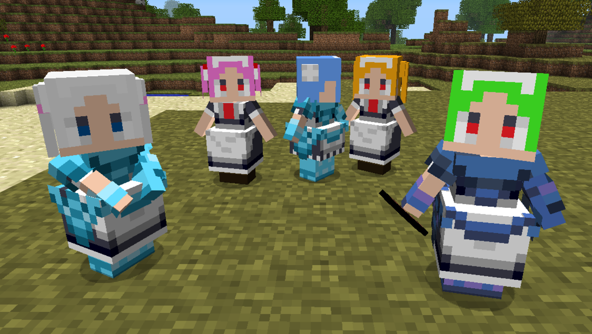 Little Maid NPC Minecraft Mod (English Instructions)