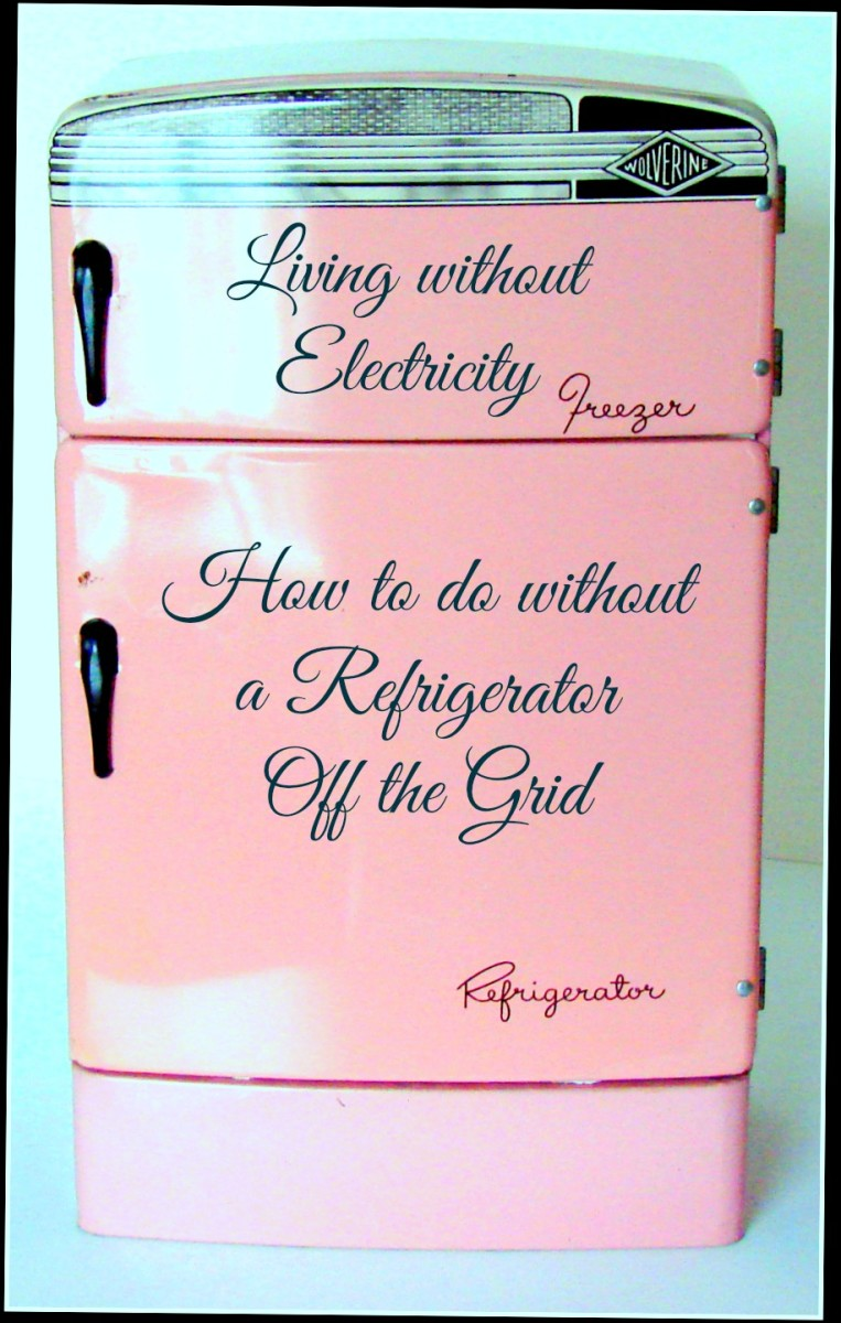 Living without Electricity: How to do without a Refrigerator Off the Grid!