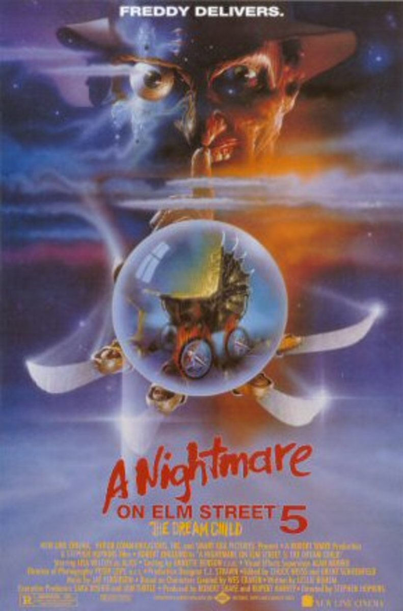 "Movie Review: ""A Nightmare on Elm Street 5: The Dream Child"""