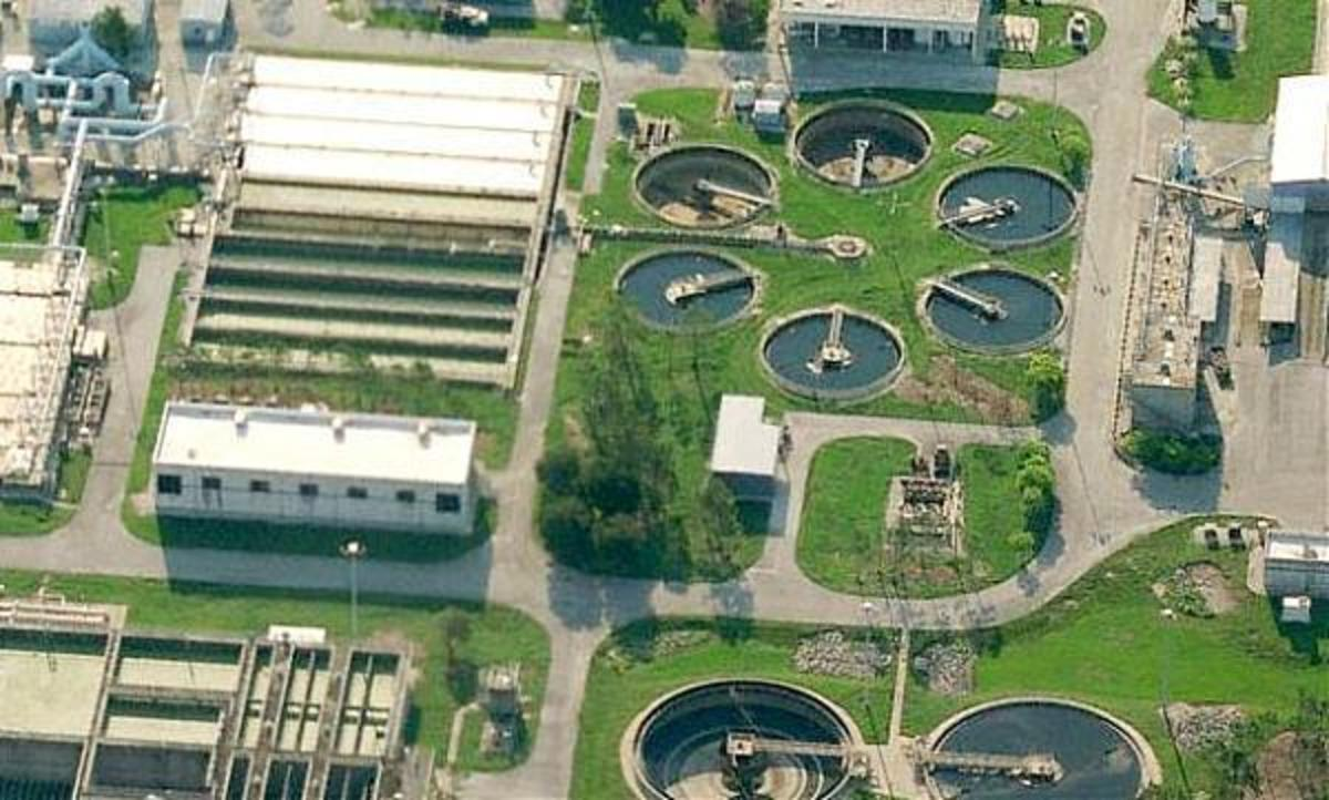 Iron Bridge Water Treatment Plant northeast of Orlando.
