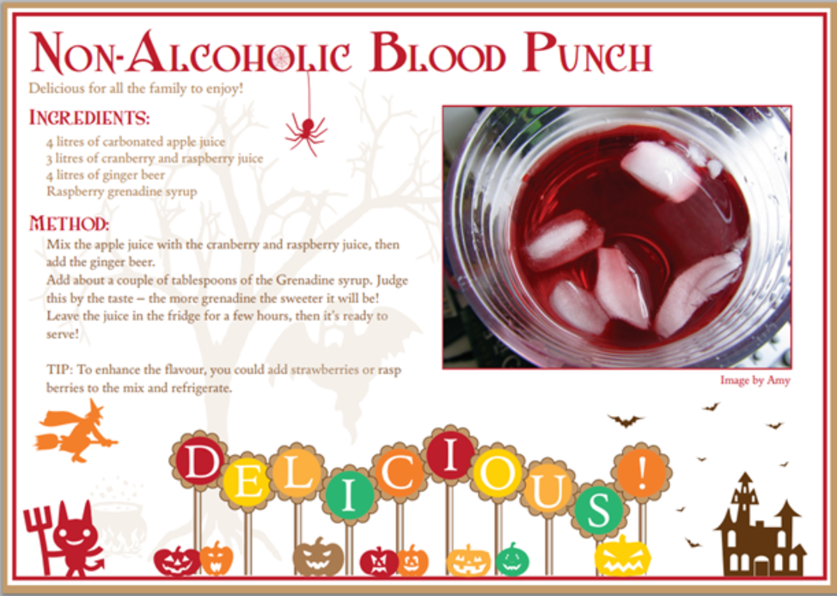 For those who prefer not to drink alcohol, try this awesome red punch recipe!
