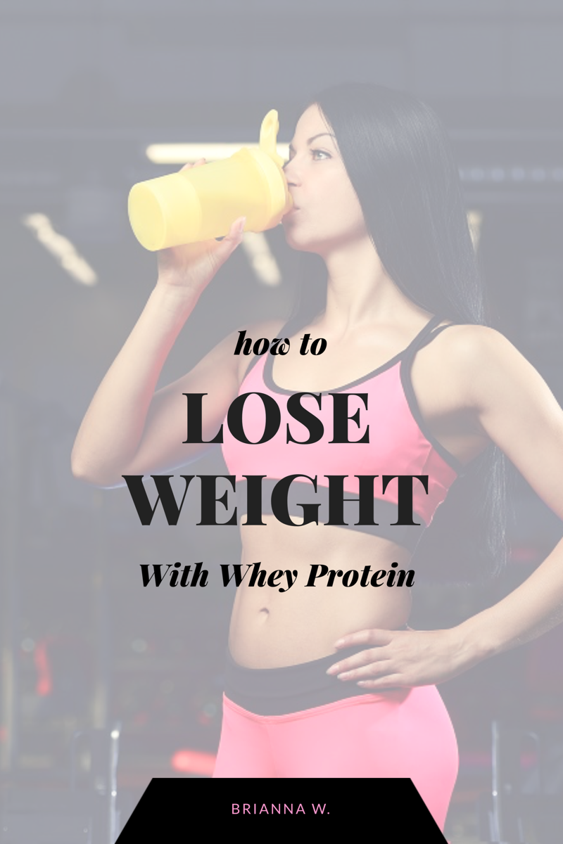 How to Lose Weight with Whey Protein for Women