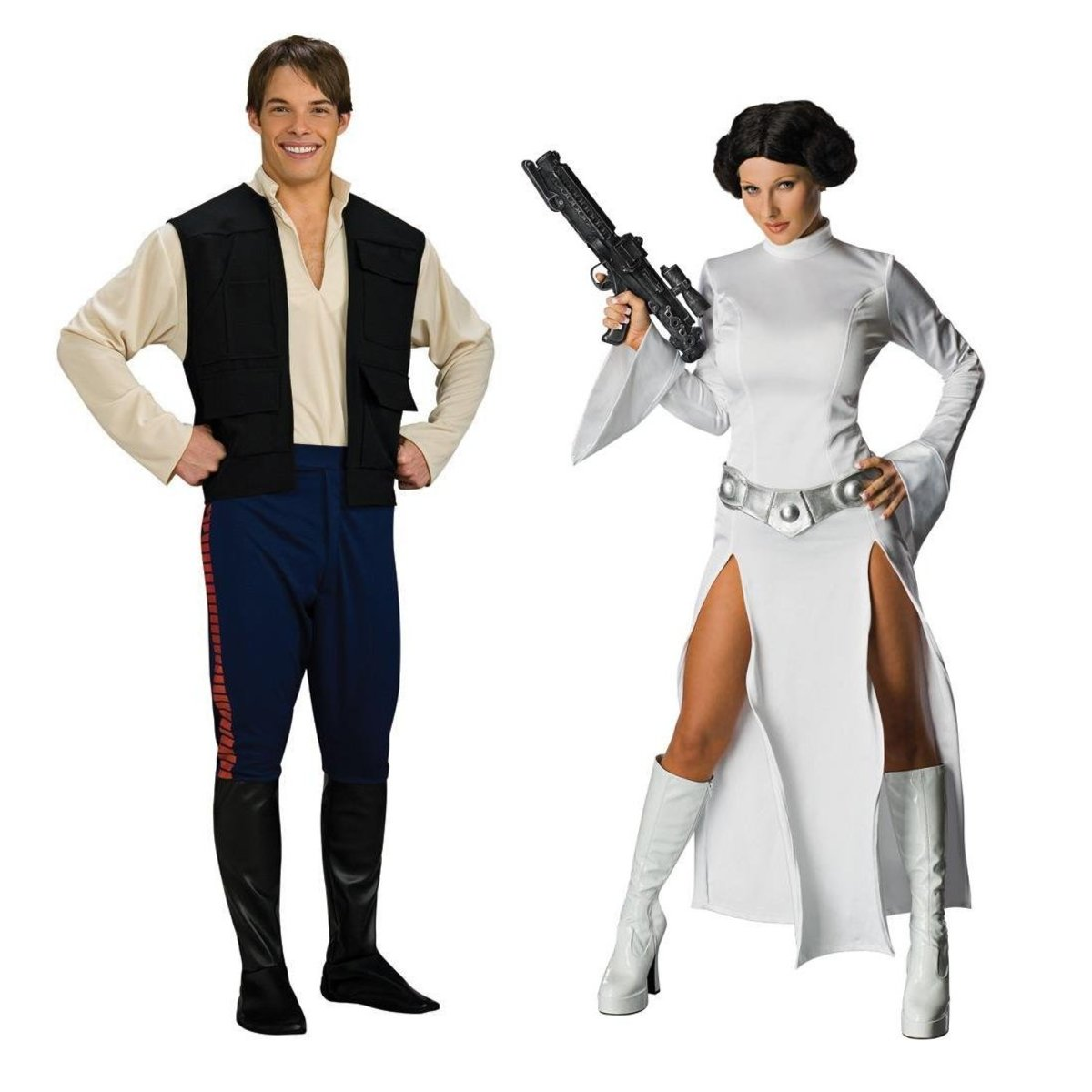 Princess Leia and Her Counterpart Hans Solo