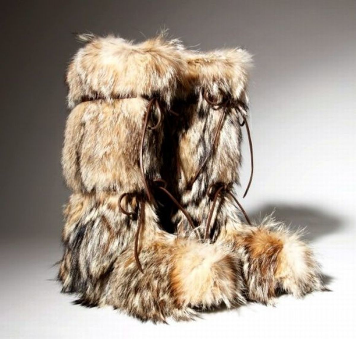 Animal Fur Eskimo Boots