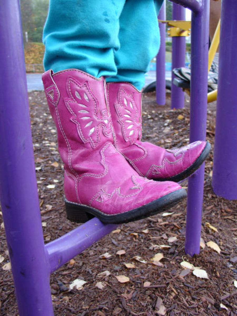 Girl's Pink Cowboy Boots