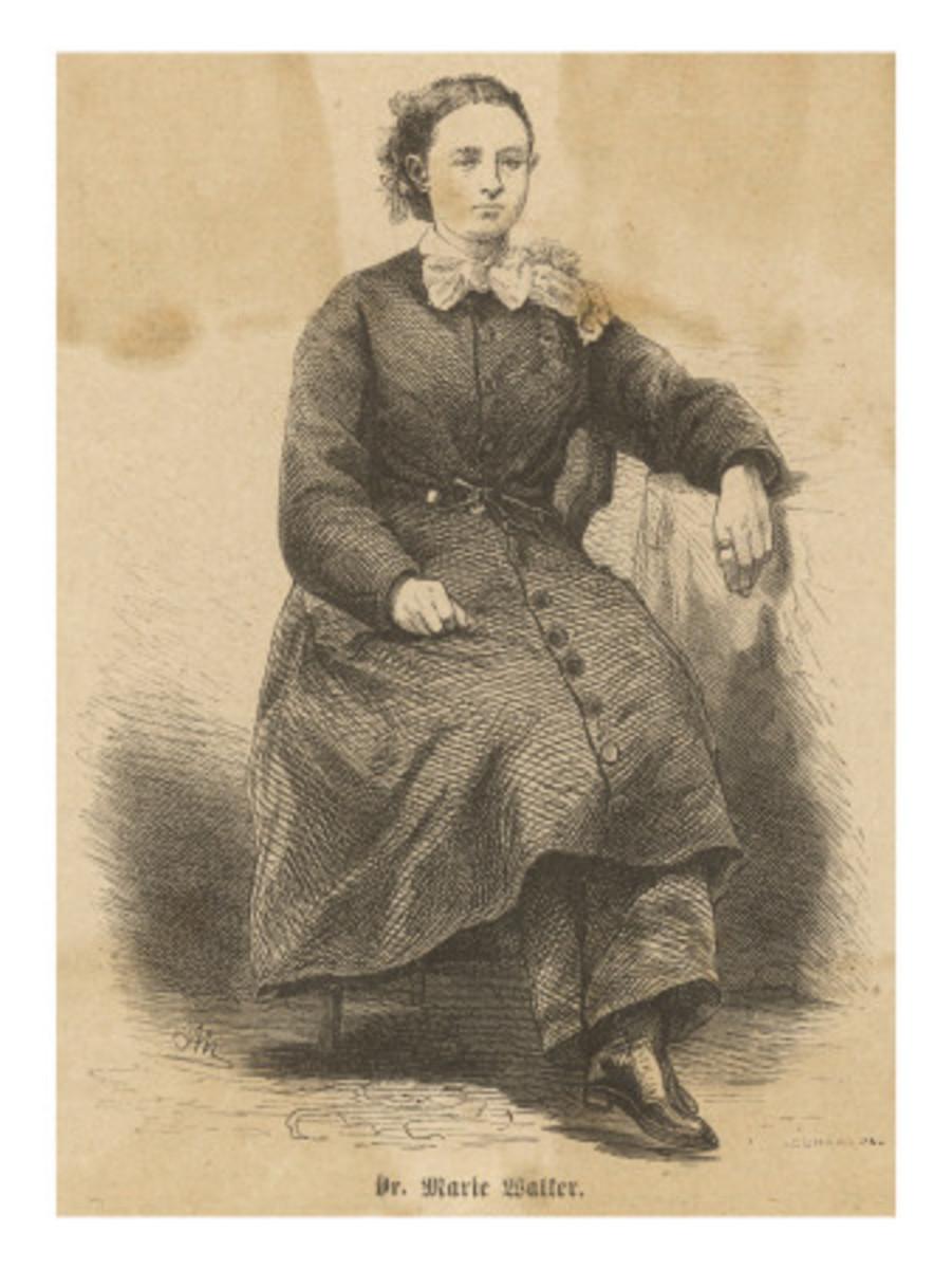 Dr. Mary Edwards Walker, 1867 Reformer