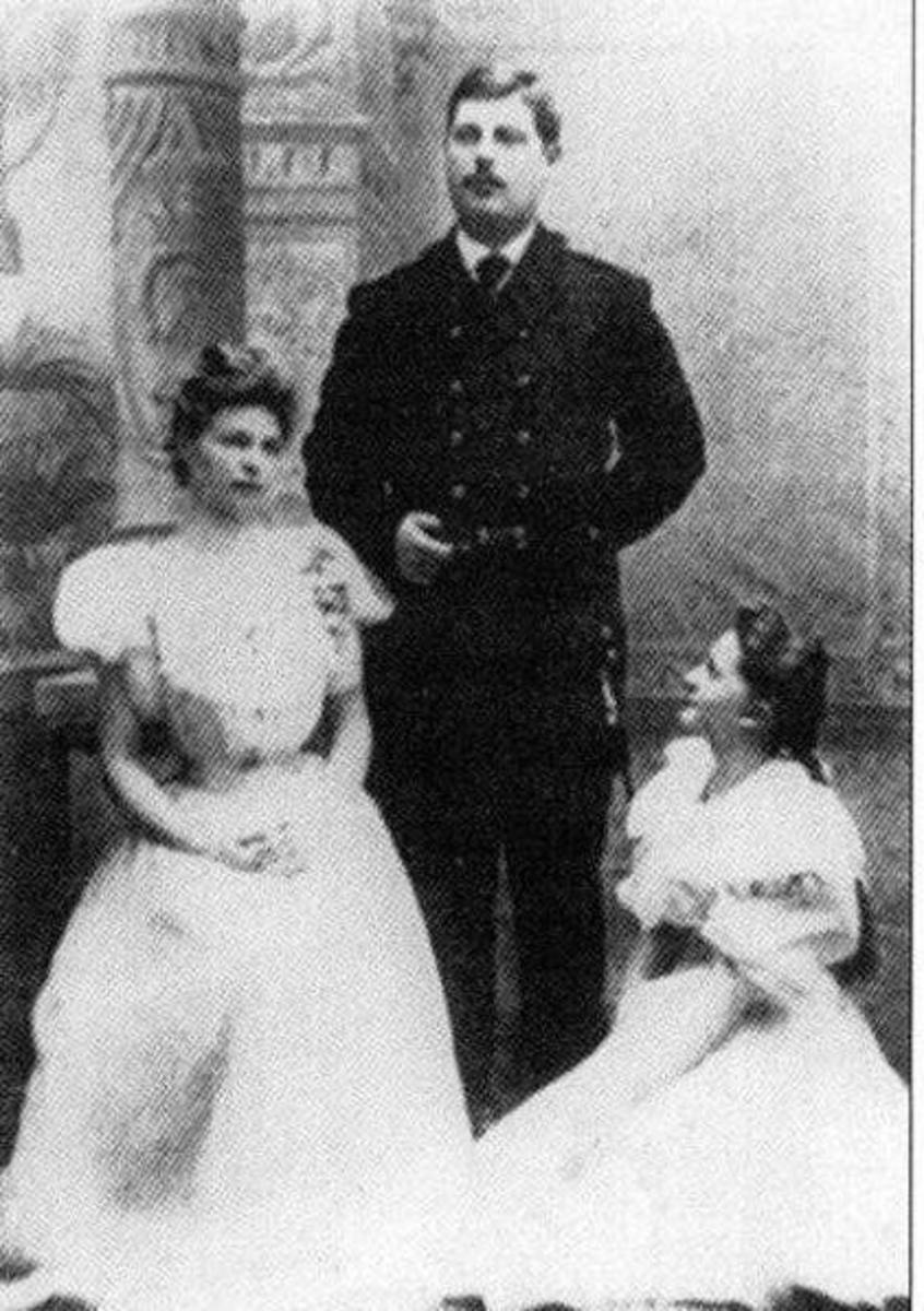 The three surviving children of Alexander II's second wife.