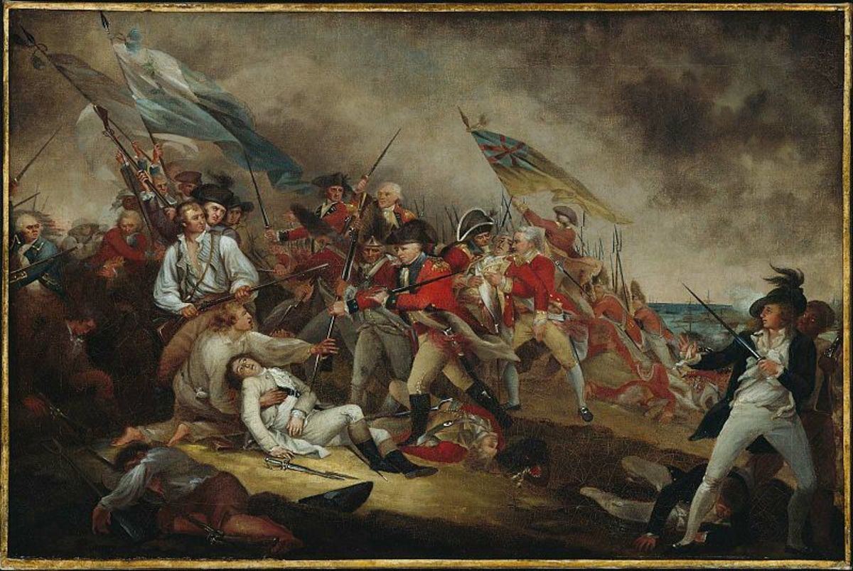 Siege of Boston - American Revolutionary War