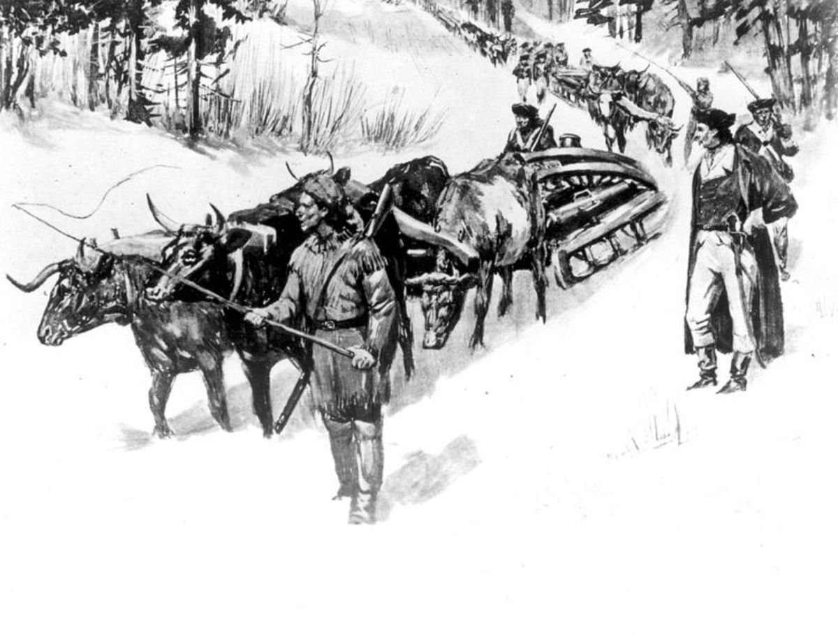 Noble Train of Artillery in the American Revolutionary War