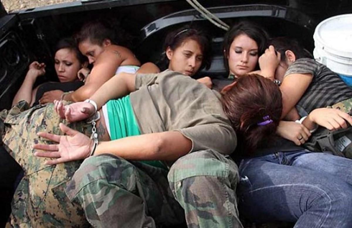 Possible Female Assassins Captured as Drugs War Rages On.