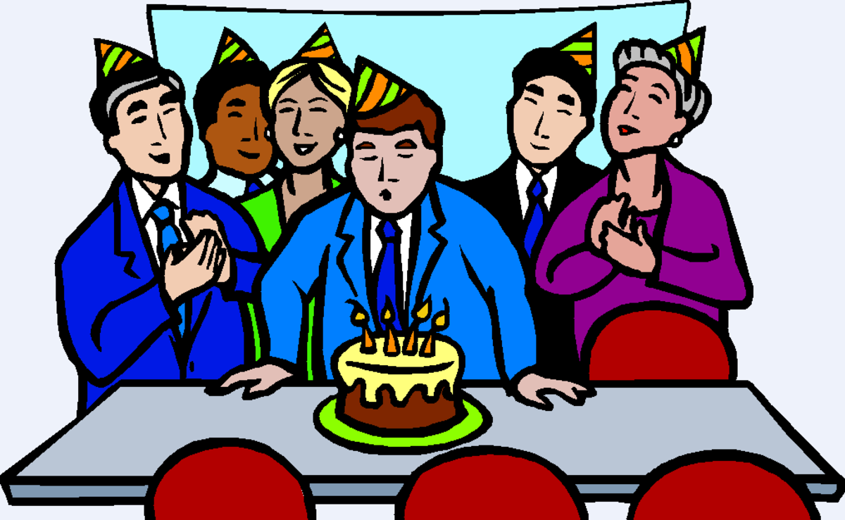 Birthday Party in the Board Room