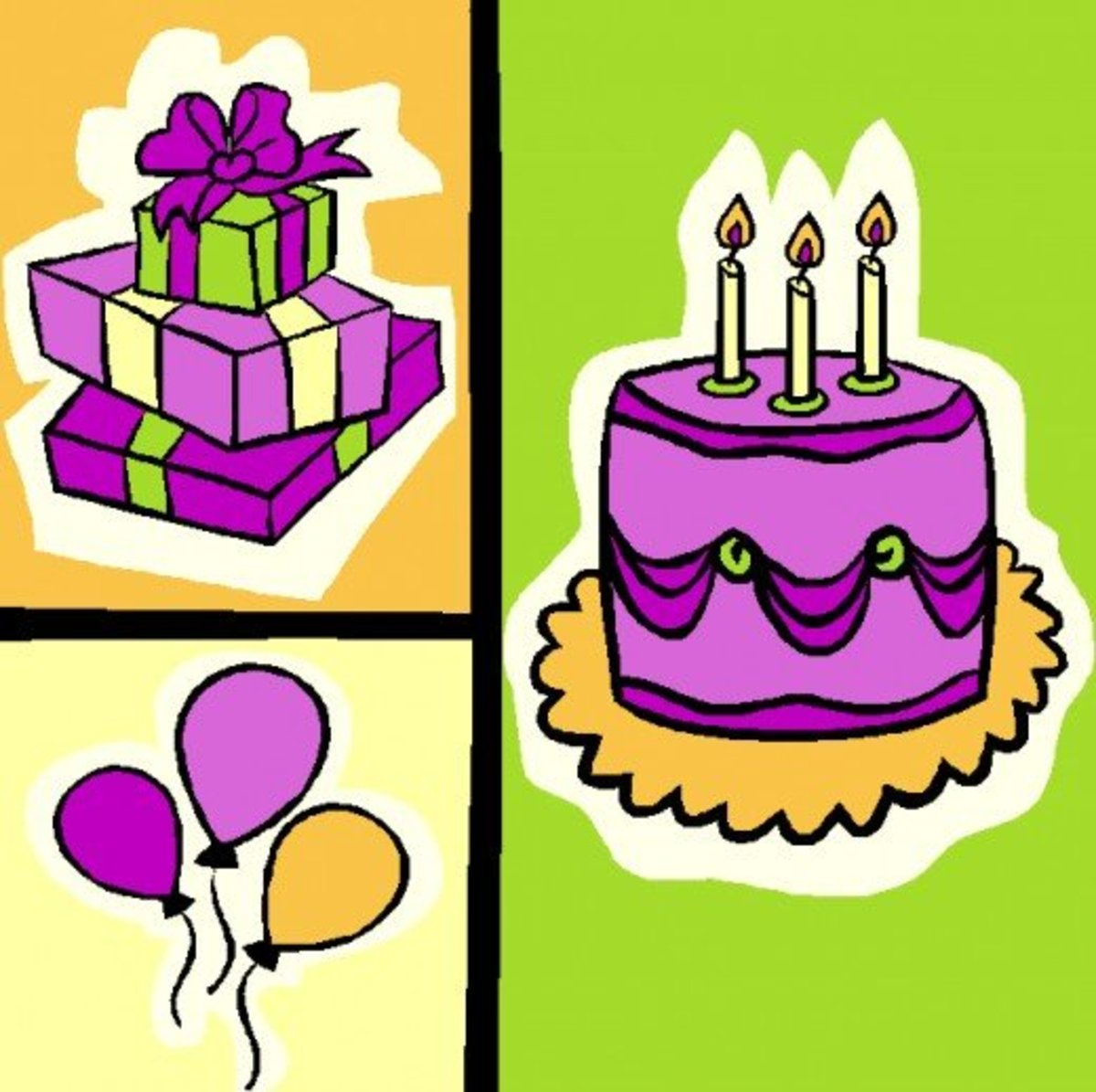 BIRTHDAY CLIP ART | Best Free, Printable Happy Birthday Clip Art