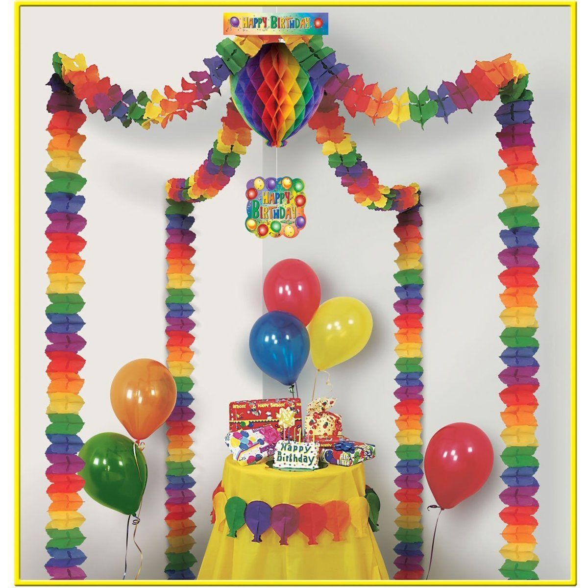 Giant Birthday Party Canopy