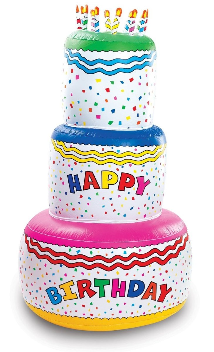 Giant, Inflatable, Three-Tier Birthday Cake