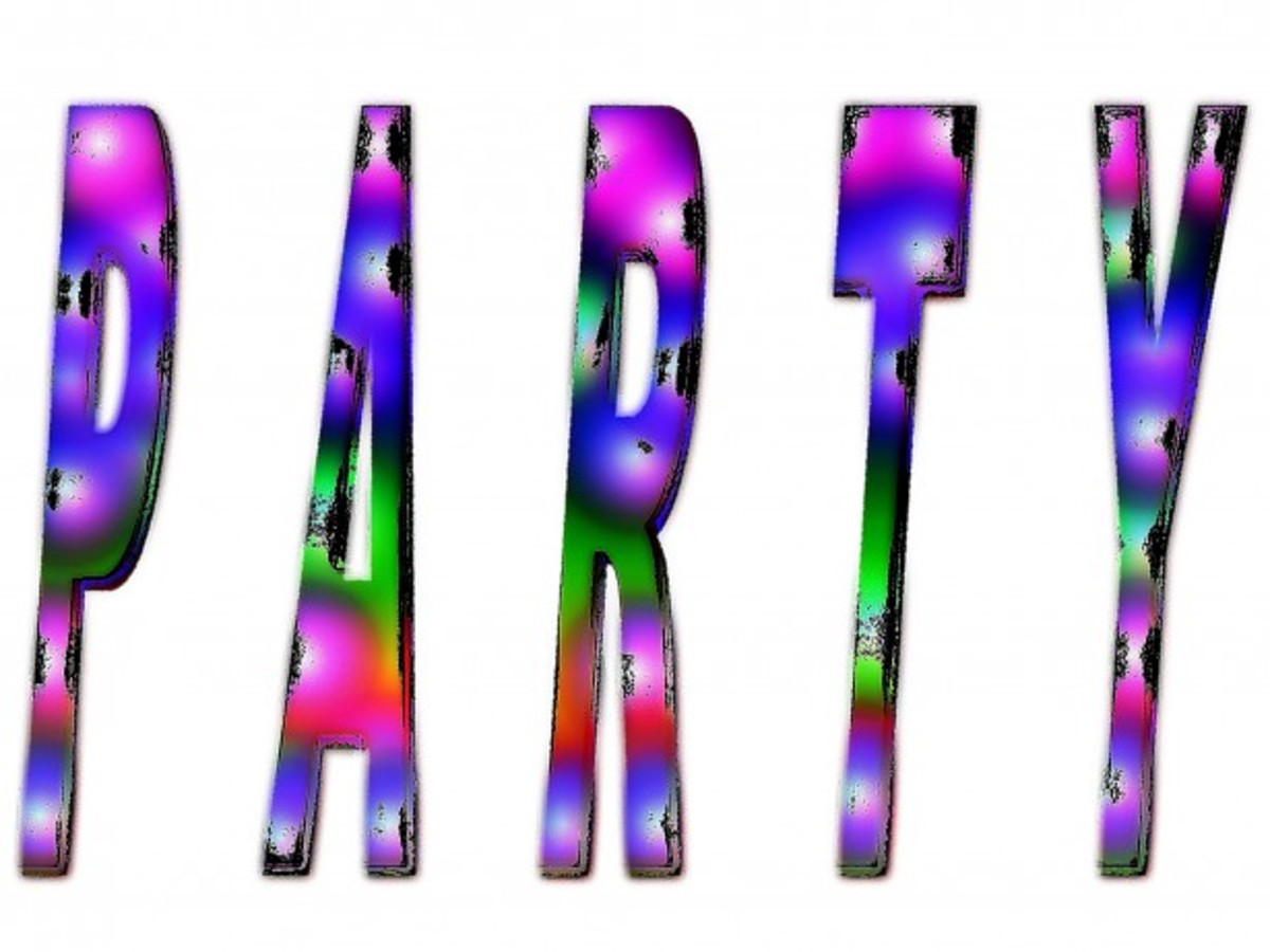 'Party' in Multi-Colors