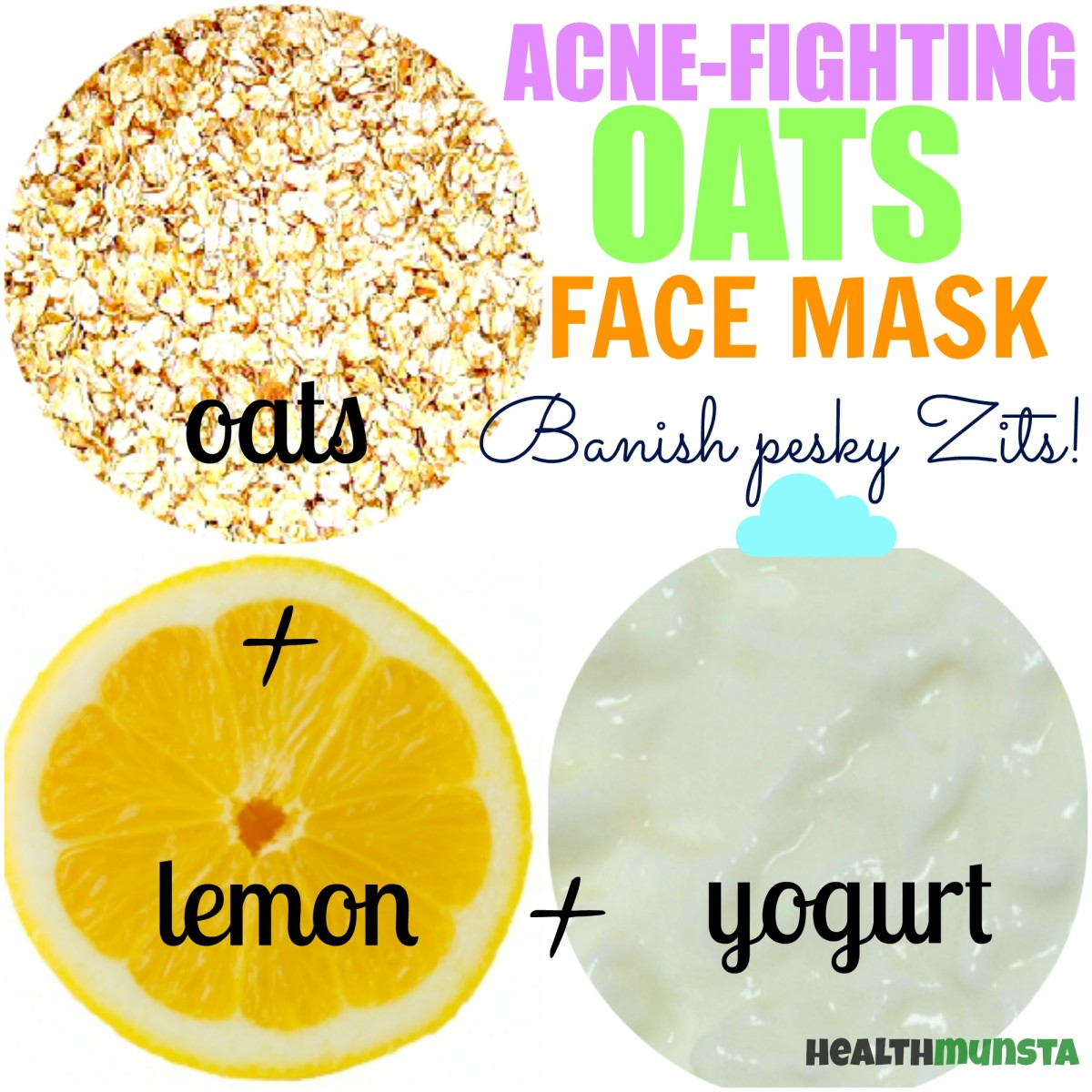 Got acne? Don't give up! Use this gentle oats face mask that's tough on zits.