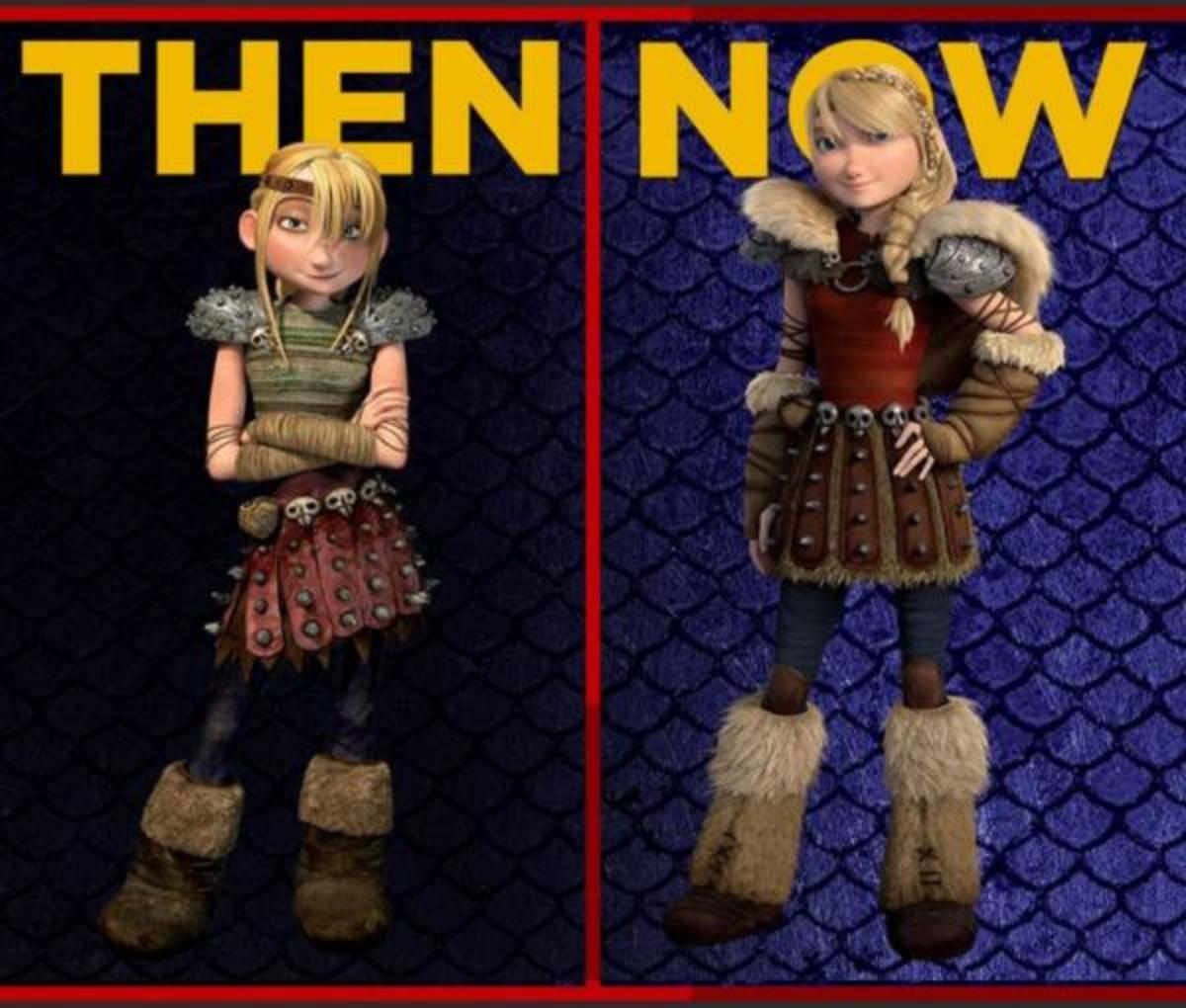 Astrid Then or Now