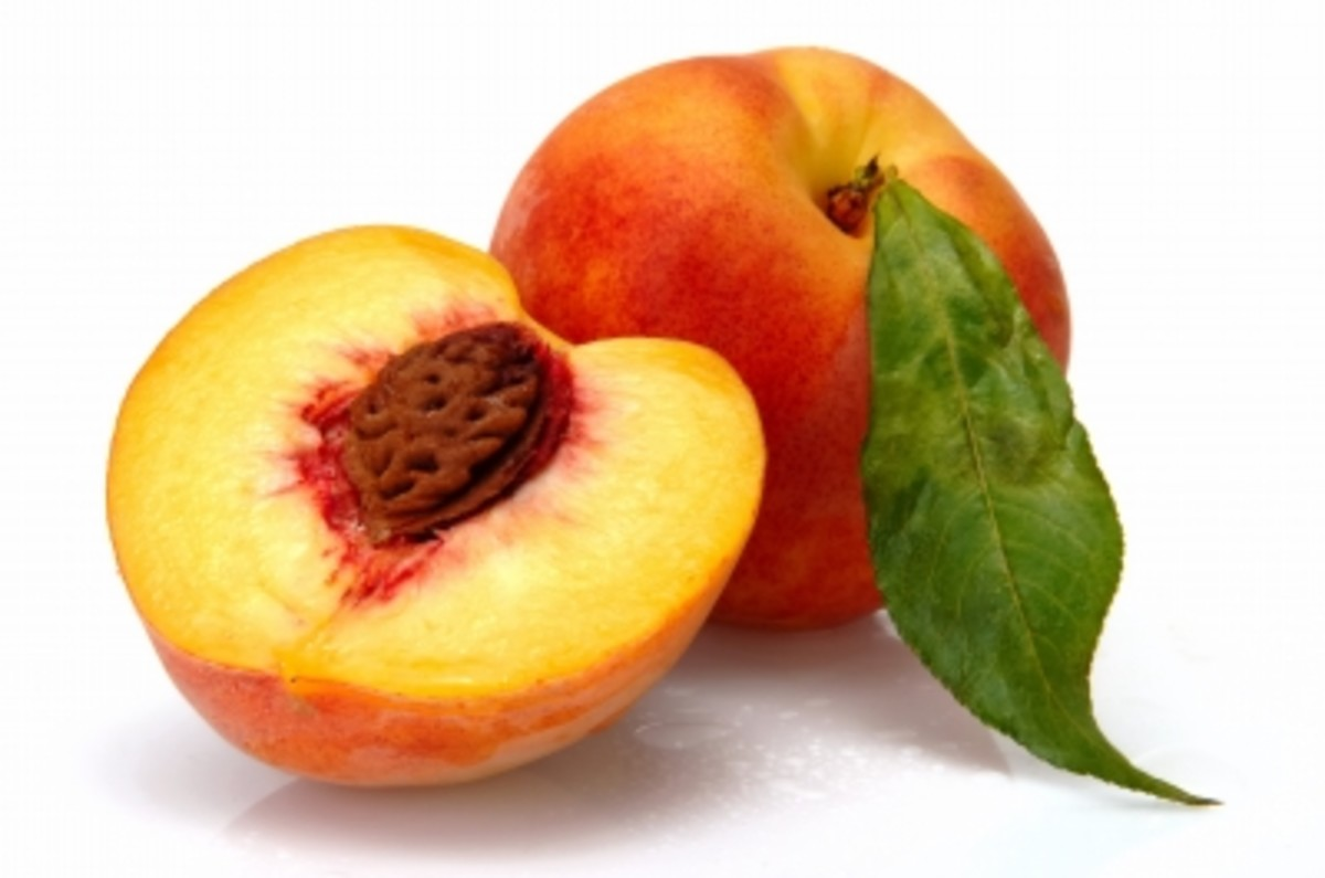Peaches are close to the top when it comes to pesticides. Choose organic when possible.