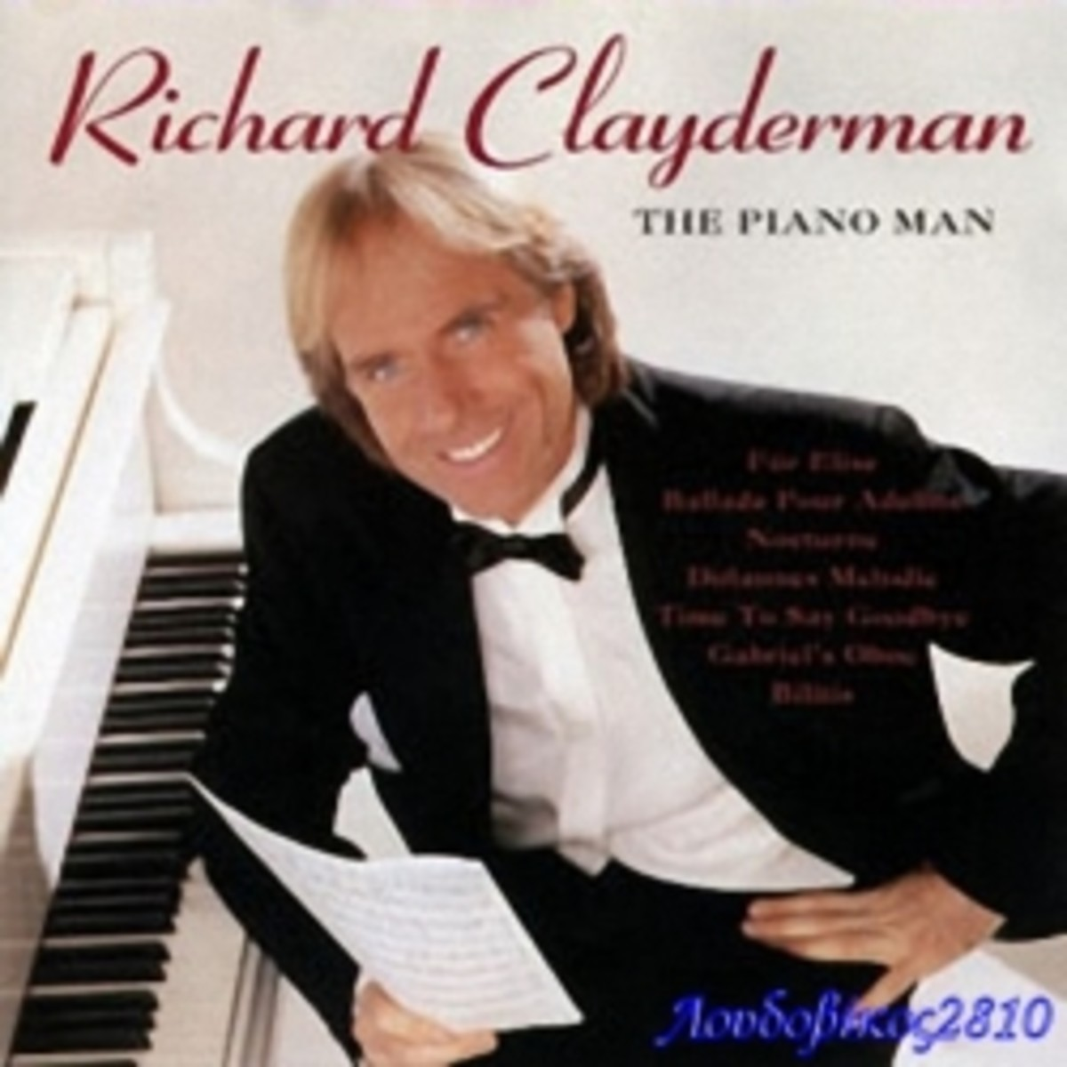 My Top 10 Instrumental Music of Richard Clayderman