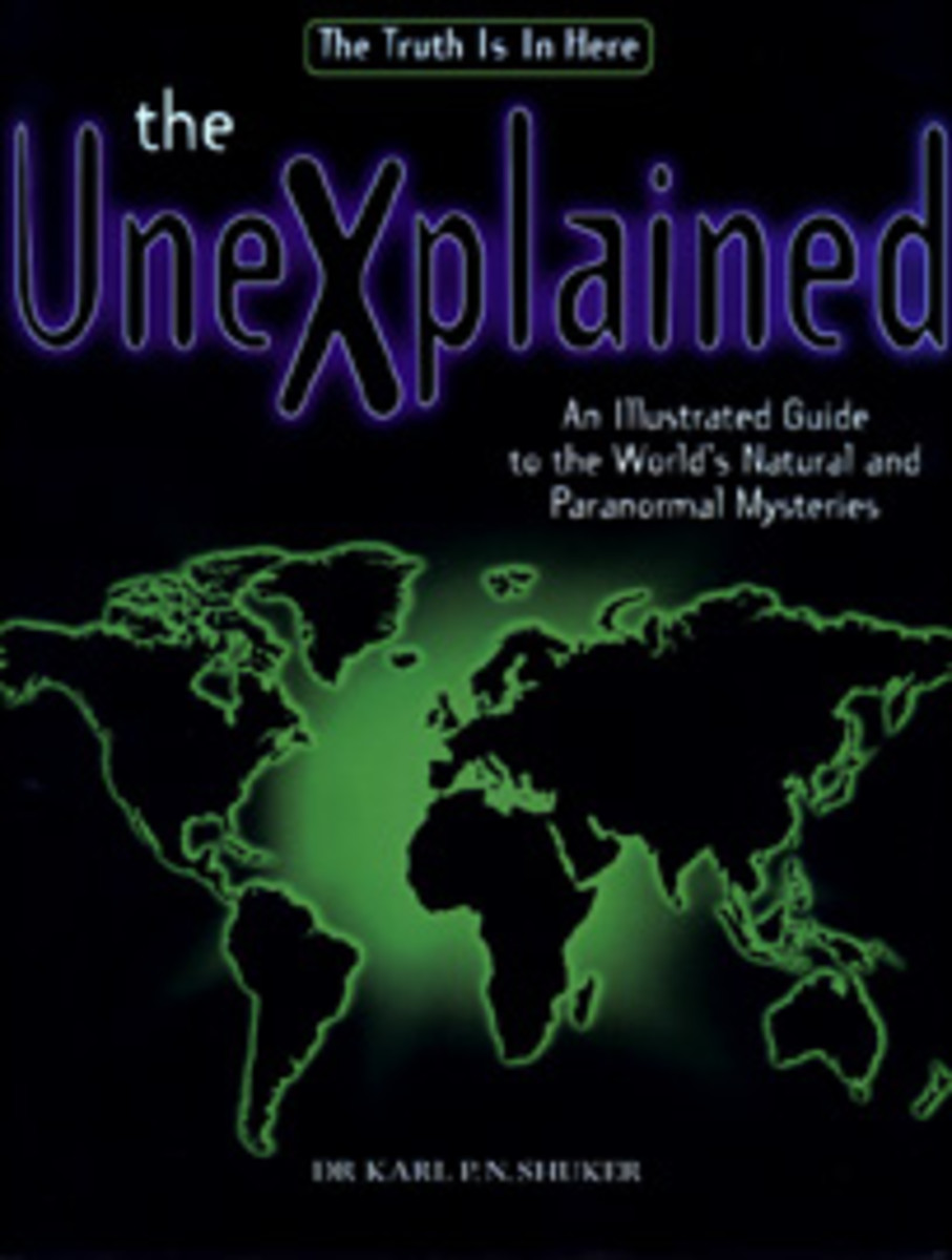 Cover of Dr. Karl P.N. Shuker's Book, the unexplained