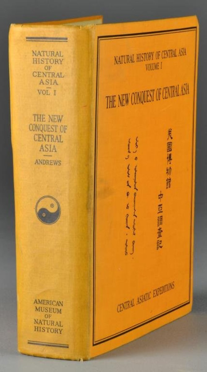 "The book, ""The new conquest of Central Asia"""
