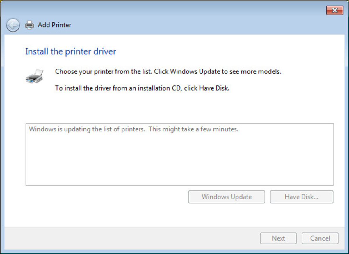 Click Windows Update