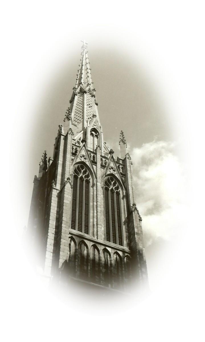Church with Cloudburst, New York City