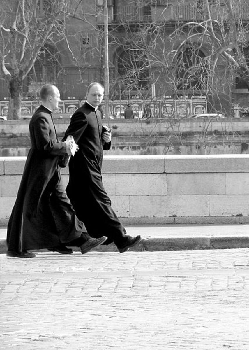Priests in Rome