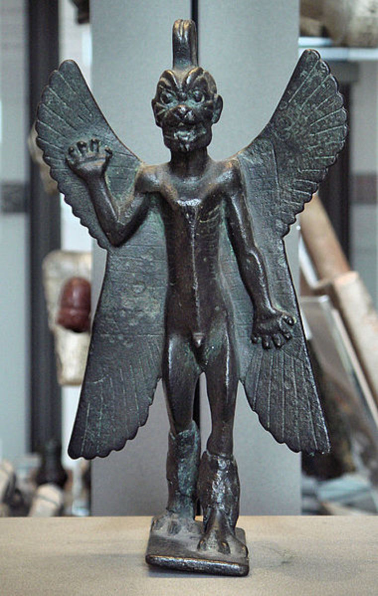 Pazuzu - King of the demons in Assyrian mythology.