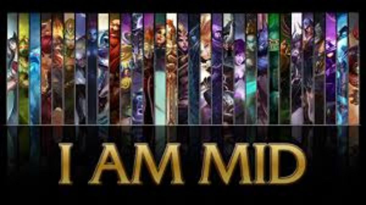 League of Legends Mid Lane Champions