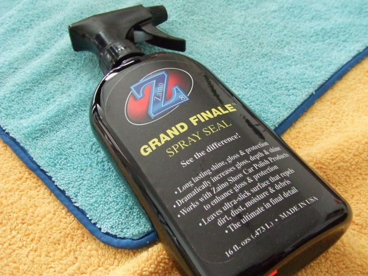 Zaino Z Spray Seal Review And How To Use It Properly HubPages - Show car ultra shine detail spray