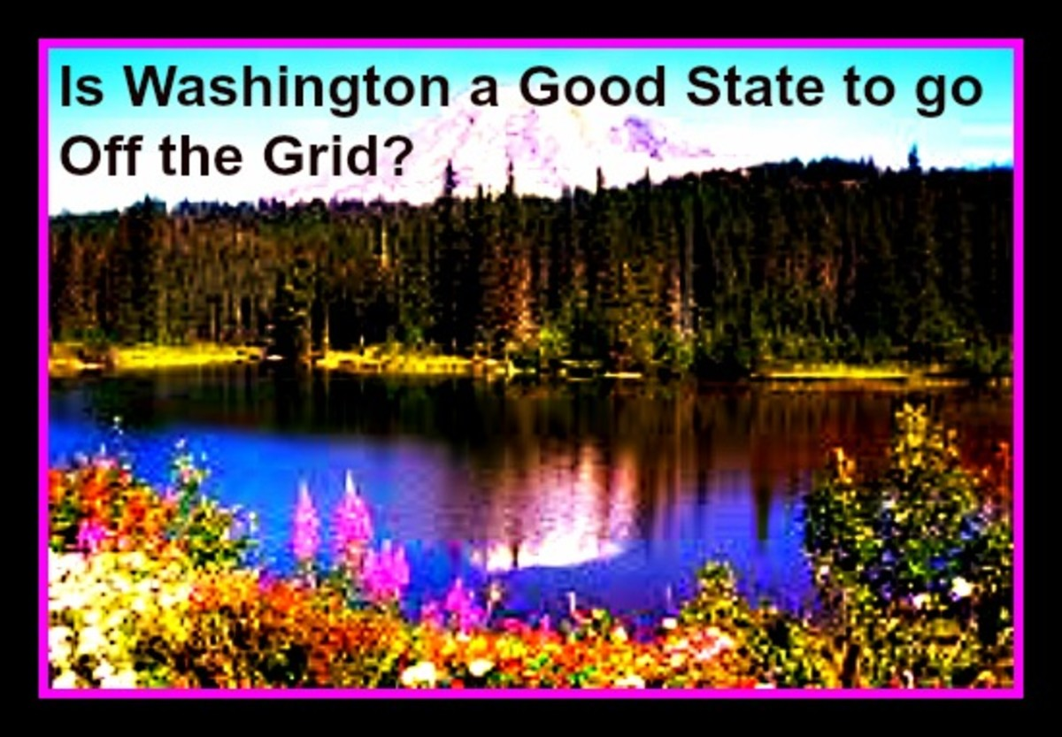 Is Washington a Good State to go Off the Grid?