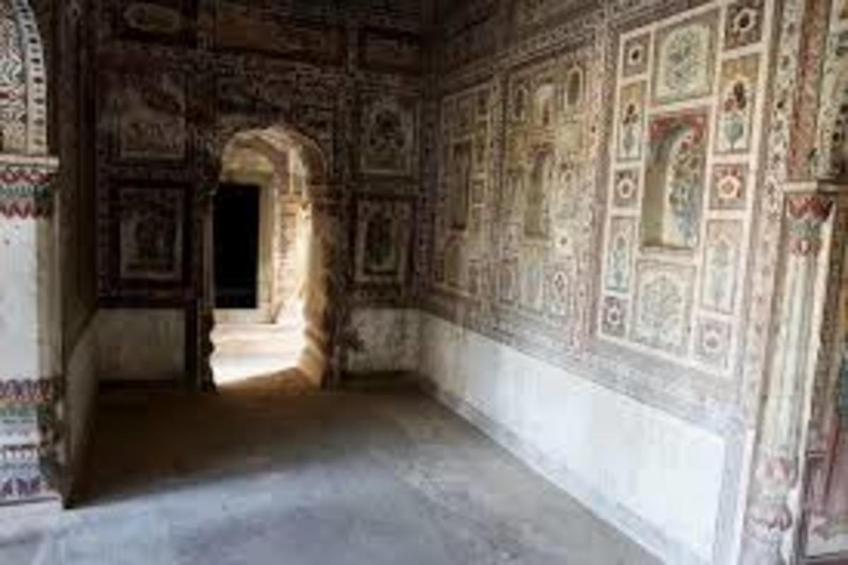 Wall Paintings of Arki fort
