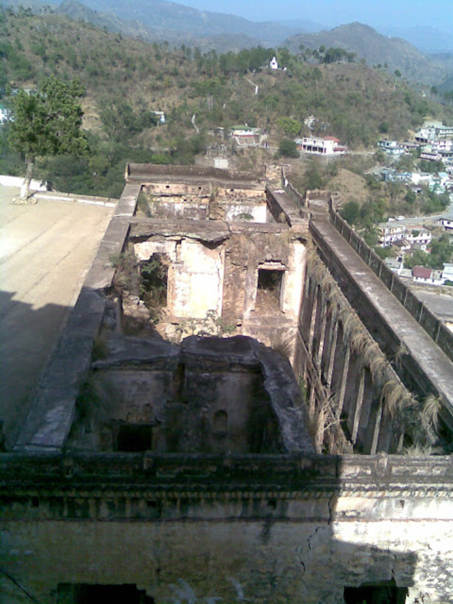 The Ruins of Arki fort