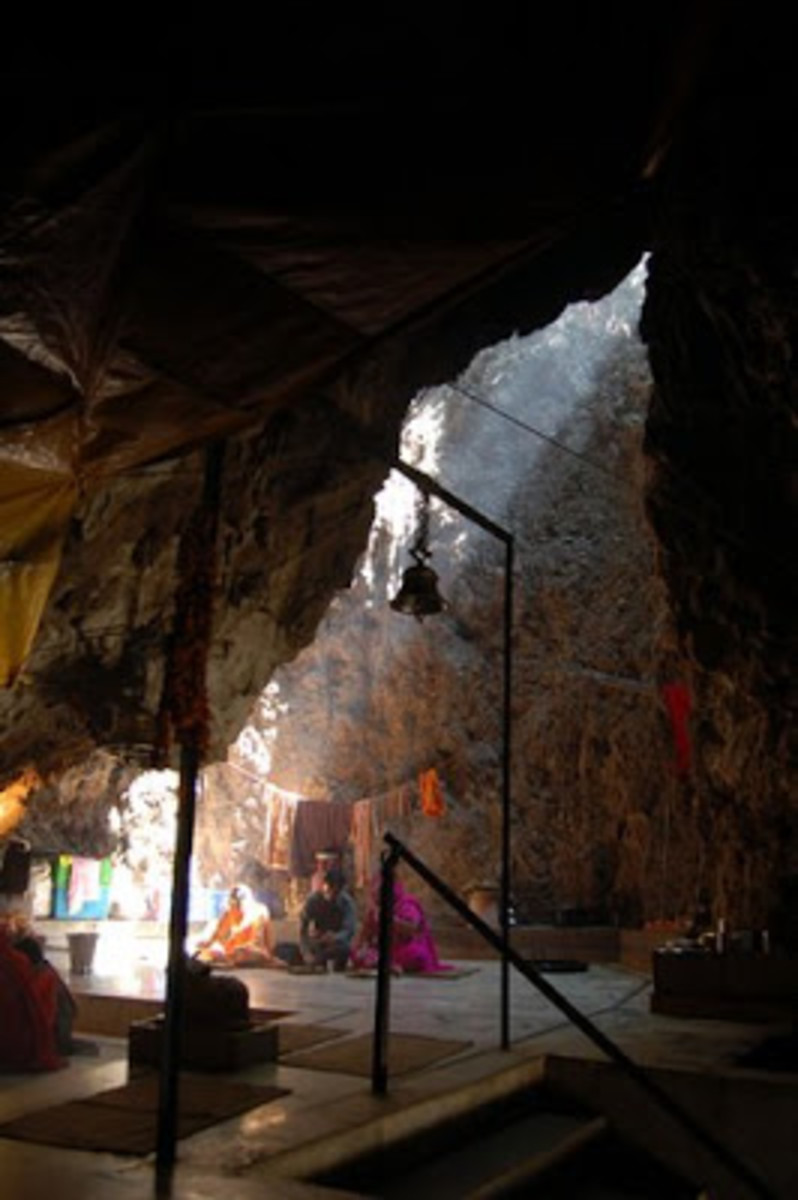 The Luturu Mahadev temple