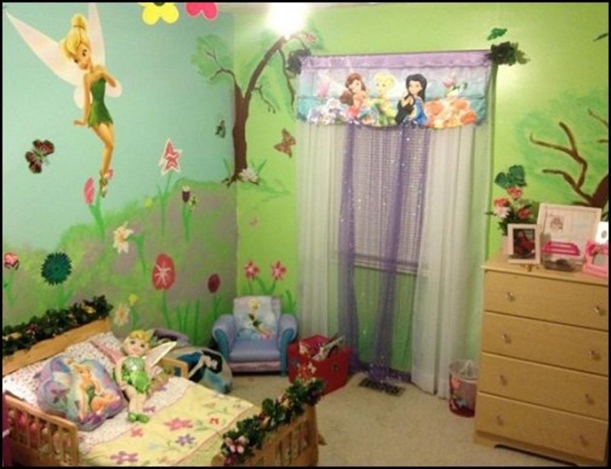 fairy themed bedroom decor and ideas for girls rooms hubpages