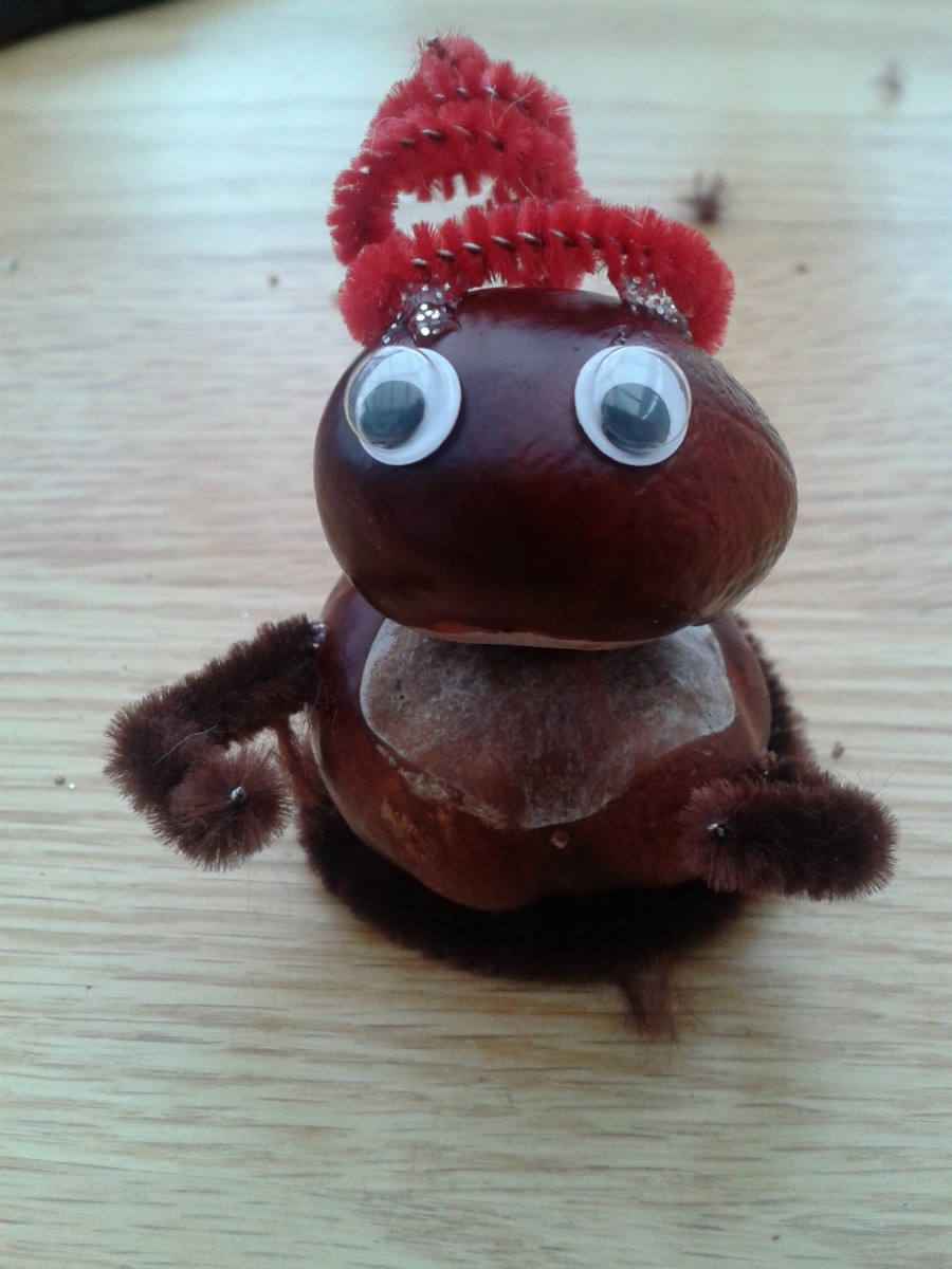 Conker Art to Scare Spiders
