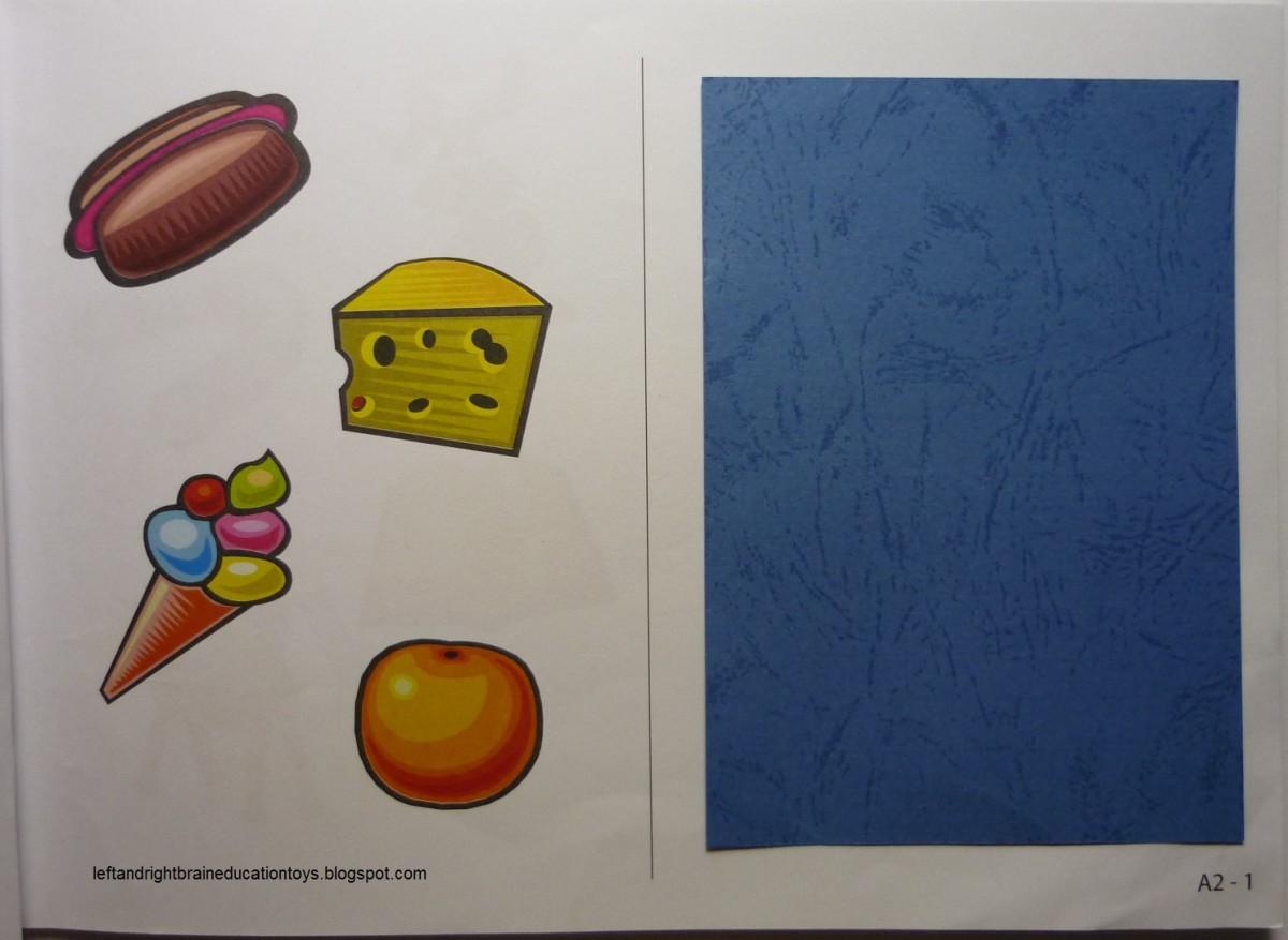 """An example of a """"right-brain"""" activity sheet. An explanation can found at the blog site listed with this image."""