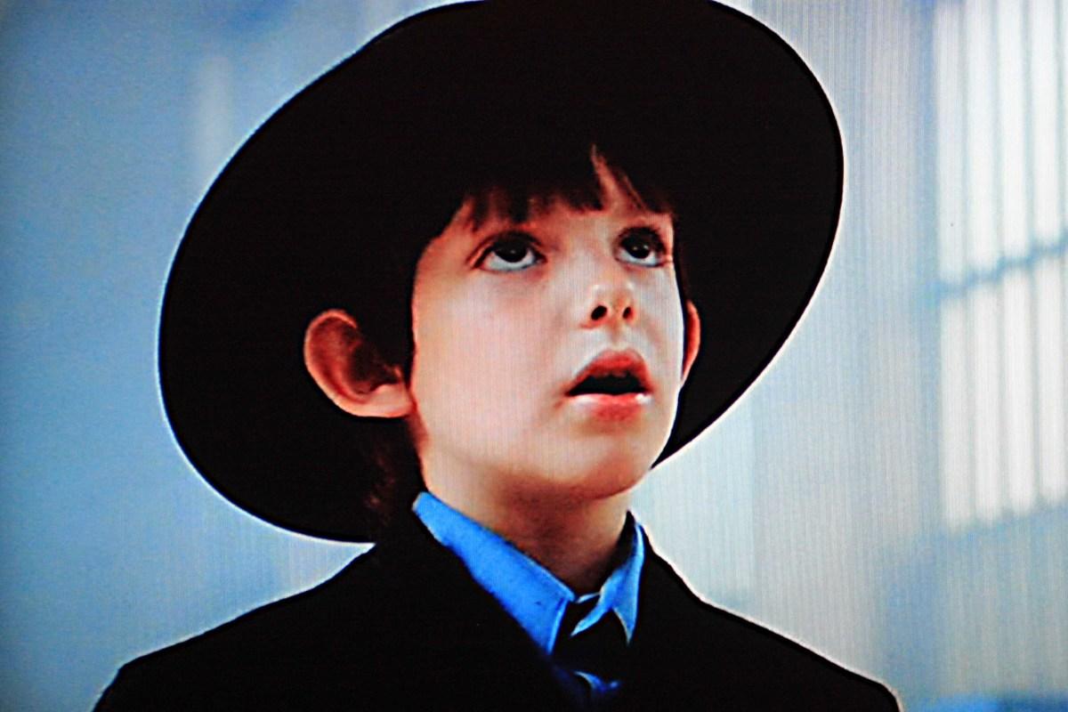 Lukas Haas is Samuel Lapp