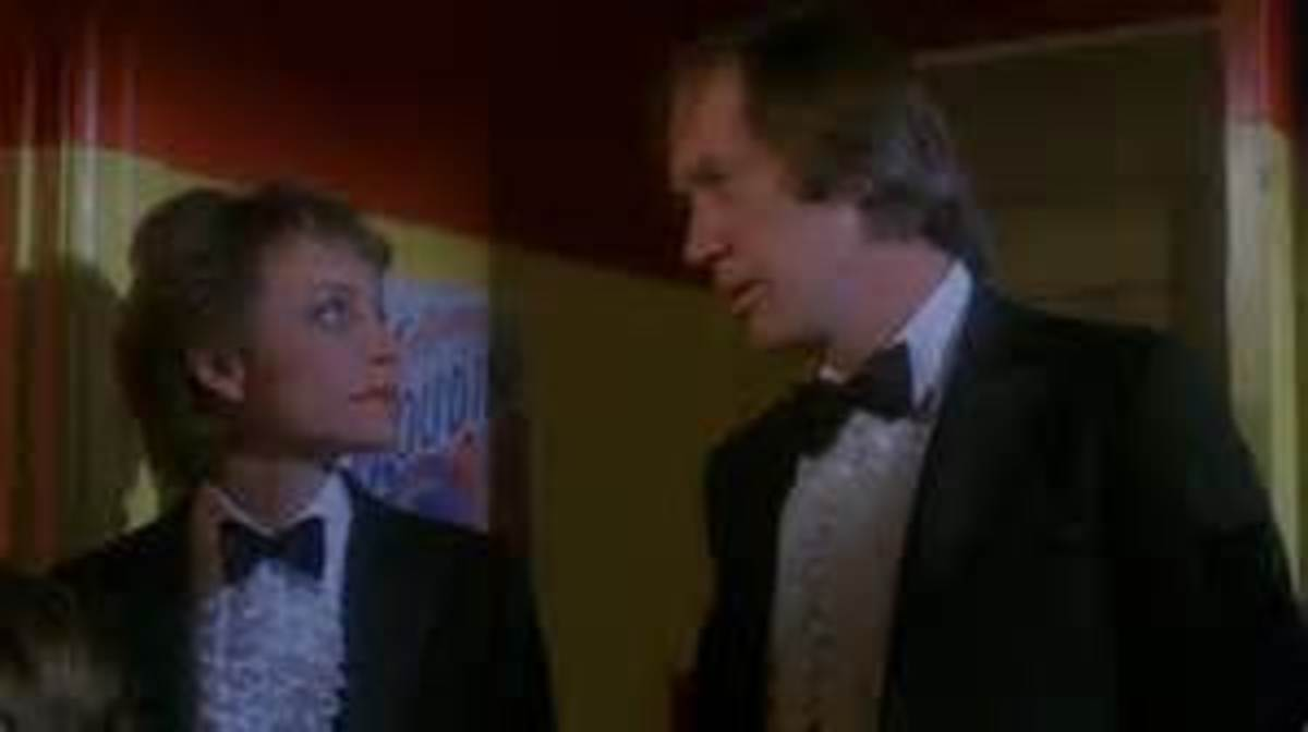 Carrie Snodgrass and David Carradine are up to their own tricks in 1982's Trick or Treats
