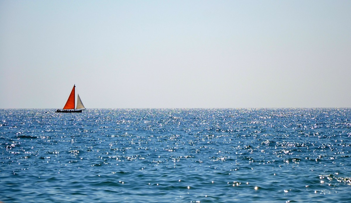 Sailing in this journey called life.