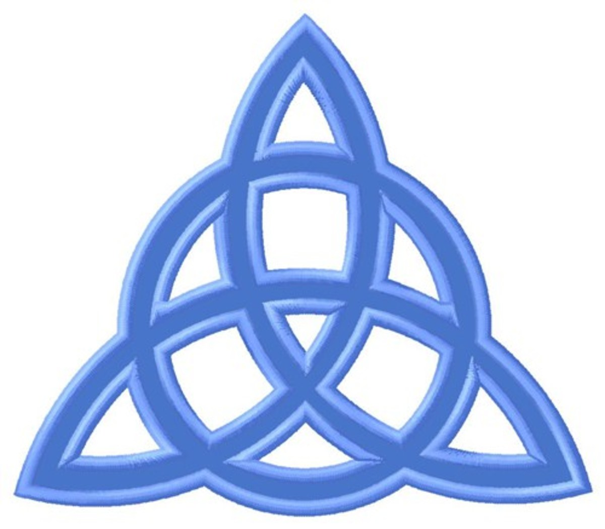 A Symbol of the Magical Trinity.