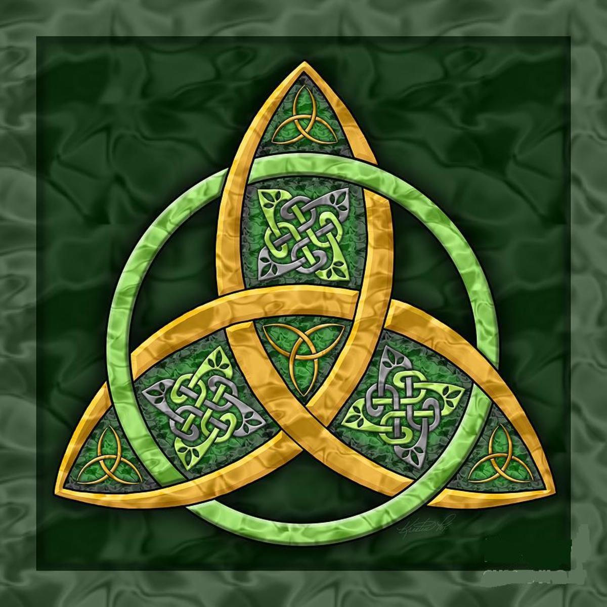 A Celtic Trinity Symbol.
