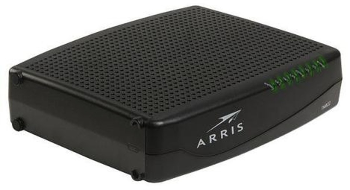 Arris TM822G Touchstone telephony cable modem