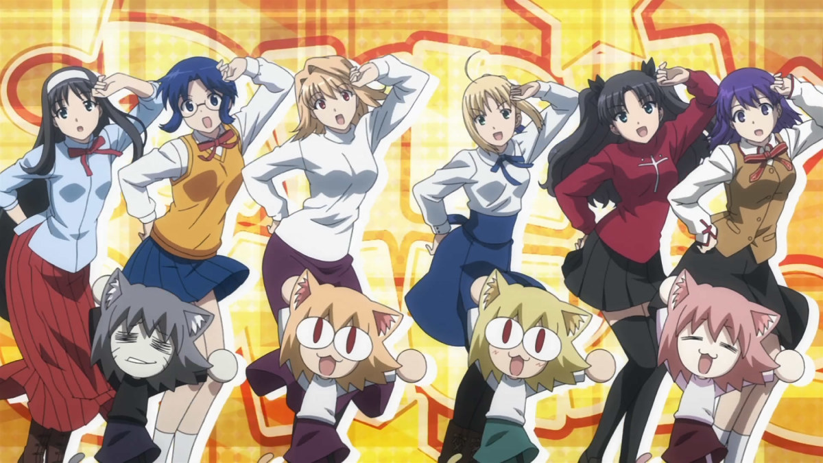 Anime Reviews: Carnival Phantasm