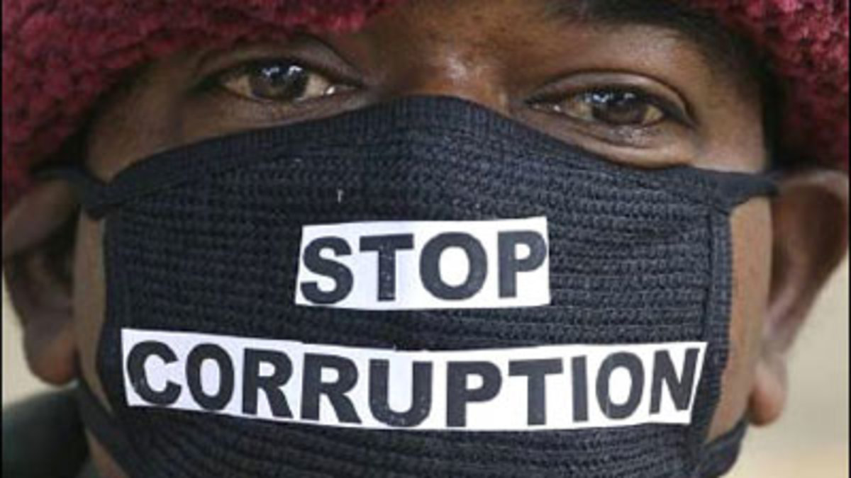 Solutions on how to stop corruption in African Continent.