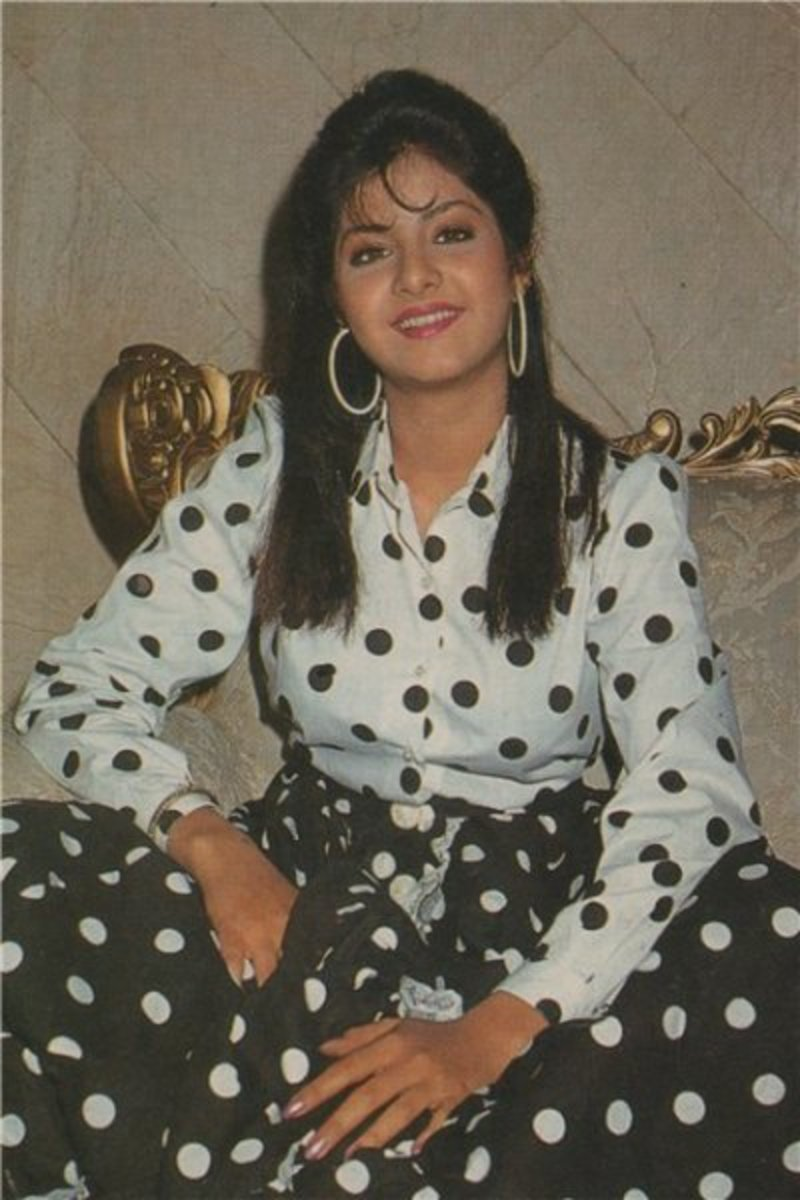 Govinda was a very good friend of Divya Bharti. She was among the youngest and most successful stars when she made a debut. Her cause of death is still a mystery and she was only nineteen.