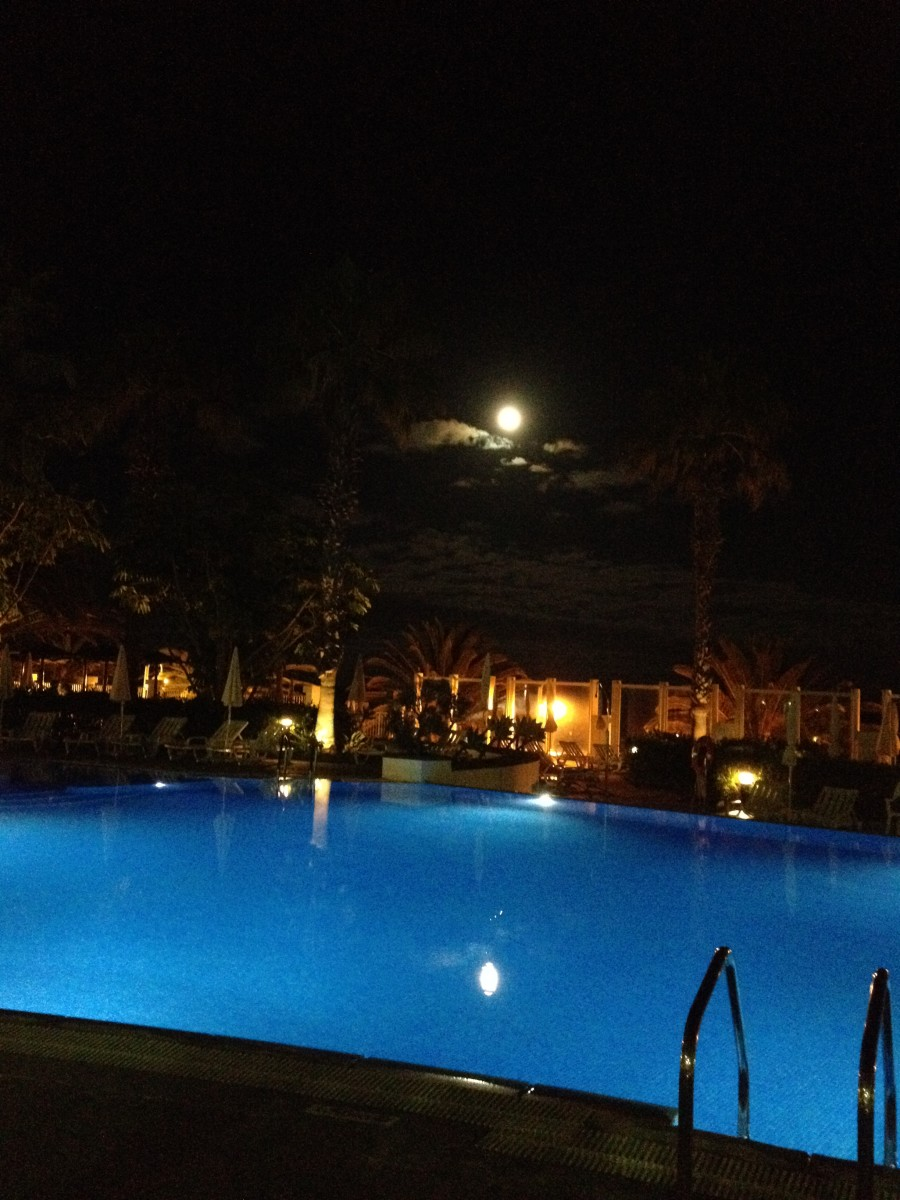 A pool view is always a spectacular feature to admire both day and night